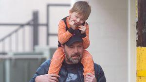 Ben Affleck und sein Sohn Samuel