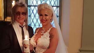 Schick: Bert und Ginger Wollersheims zweiter Hochzeits-Look