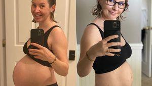 Zwei Monate nach Geburt: Beverley Mitchell zeigt ihren Bauch