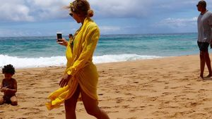 Beyoncé, Jay-Z und Blue Ivy auf Hawaii