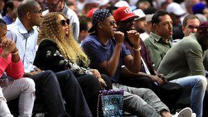 Beyoncé und Jay-Z bei einem Basketball-Spiel in LA