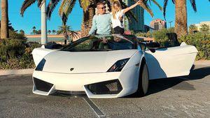 Protzkarre: Bibis Schwester hat 1. Fahrstunde im Lamborghini
