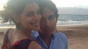 Süß: TBBT-Kunal Nayyar & seine Liebste auf Hawaii
