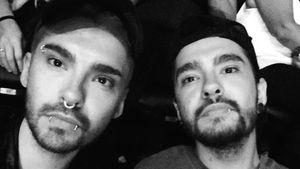 Bill und Tom Kaulitz beim Adele-Konzert