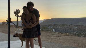 Seltener Post mit Baby: Billie Lourd zeigt sich beim Stillen
