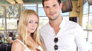 Billie Lourd und Taylor Lautner