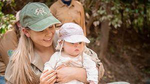 Kleine Abenteurerin: Bindi Irwins Baby fängt schon Krokodile