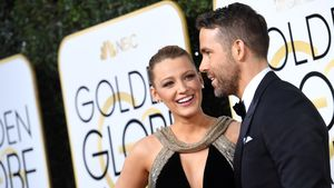 Blake Lively und Ryan Reynolds bei den Golden Globes
