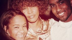 Bobbi Kristina, Whitney Houston und Nick Gordon