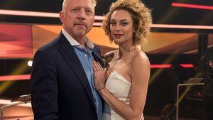 """Boris und Ehefrau Lilly Becker beim Fototermin für die ARD-Show """"Paarduell XXL"""" 2016 in Köln"""