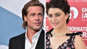Doch nicht nur Freunde? Brad Pitt trifft Alia sehr häufig!