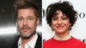 Flirt-Spekulationen über Brad Pitt und Alia: Jetzt redet er!