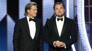 Golden-Globe-Rede: Brad Pitt widmet DiCaprio rührende Worte