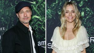 Brad Pitt und Sienna Miller