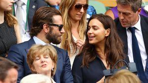 Bradley Cooper und Irina Shaynk in Wimbledon 2016