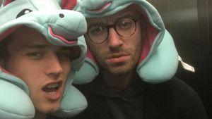 1. Liebes-Pic: Sam Smith & sein Brandon als süße Einhörner!