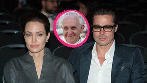 Halleluja! Brangelina besuchen Papst Franziskus