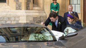 Prinzessin Eugenie & Jack: Im James Bond-Auto zur Party