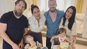 So süß feiern Nikki und Brie Bellas Söhne ersten Geburtstag