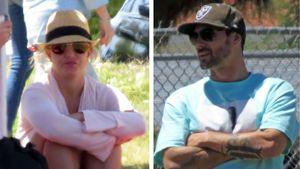 Schweigen Non-Stop: Eiszeit bei Britney und Kevin Federline