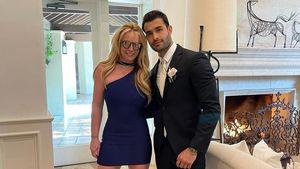 Süßer Clip: Britney tanzt mit Lover Sam auf einer Hochzeit