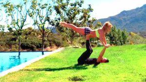 Heißes Paar-Workout: Britney Spears trainiert mit ihrem Sam!