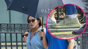 Caitlyn Jenner trägt bei Dschungel-Start Kanye Wests Schuhe!