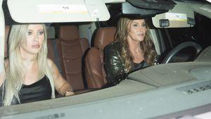 Zu Kendalls B-Day-Fete: Caitlyns Neue zeigt Stinkefinger