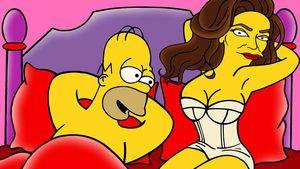 Heiße Szenen! Caitlyn Jenner mit Homer Simpson im Bett