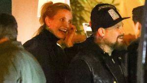 Seltener Anblick: Cameron Diaz und ihr Mann Benji feiern