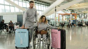 Partnerlook: Katie Price und Carl fliegen auf die Malediven