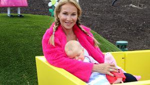 Kein Baby-Stress! Caroline Beils Töchterchen Ava ist relaxt