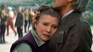 "Carrie Fisher als Prinzessin Leia in ""Star Wars – Episode VII"""