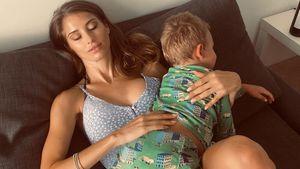 Neues Foto von Ludwig: So groß ist Cathy Hummels Sohn schon