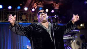 Cee-Lo Green auf einem Konzert in New York City
