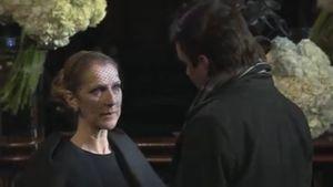 Öffentliche Trauerfeier: So sehr weint Céline Dion um René