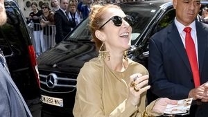 Celine Dione auf dem Weg zur AccorHotels Arena Bercy