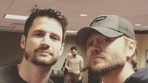 Chad Michael Murray & James Lafferty: One-Tree-Hill-Reunion!