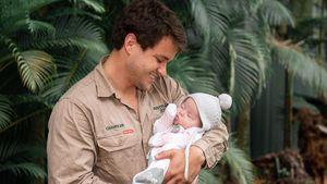 """""""Danke"""": Neu-Papa Chandler Powell feiert erstmals Vatertag"""