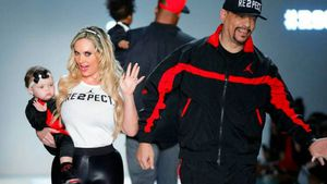 Chanel, Coco Austin und Ice-T während der New York Fashion Week
