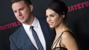 "Channing Tatum und Jenna Dewan Tatum bei der Premiere von ""The Hateful Eight"" in Hollywood"