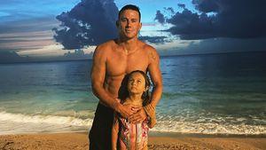 Premiere: Channing Tatum zeigt Gesicht seiner Tochter Everly