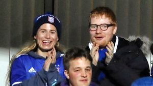 Ed Sheeran verbringt aufregendes Date mit seiner Cherry