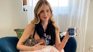 Kurz nach Geburt: Chiara Ferragni ist nur noch am Stillen!