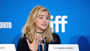 """Chloë Moretz bei einer Pressekonferenz zu """"Brain on Fire"""""""