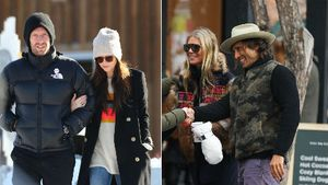 Chris Martin, Dakota, Gwyneth und Brad mit Kids im Urlaub!