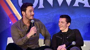 Innige Bromance: Chris Pratt schwärmt von Tom Holland