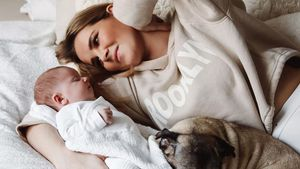 Große Gefühle: Christin Kaebers Tochter ist zwei Monate alt