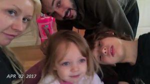 Christina Aguilera mit ihrem Verlobten Matt Rutler und ihren Kindern Summer und Max