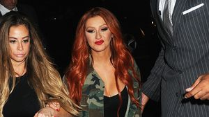 Christina Aguilera nach einem Club-Besuch in NYC